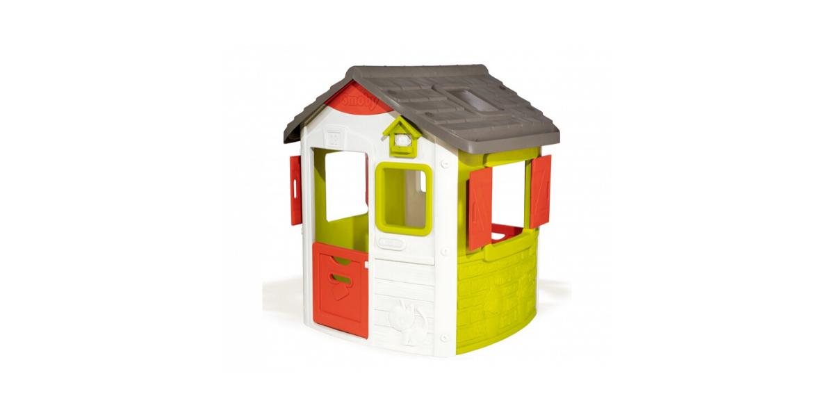 maison en plastique pour enfant Neo Jura Lodge marque Smoby