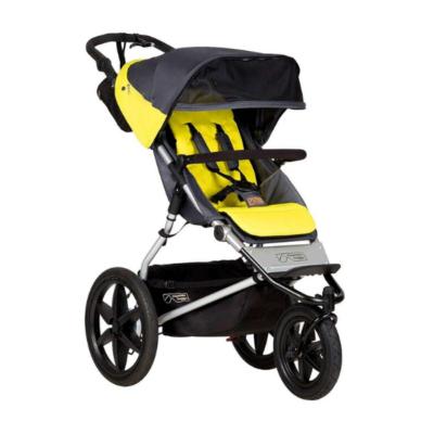 cochecito-3-ruedas-negro-amarillo-Terrain-V3-marca-Mountain-Buggy