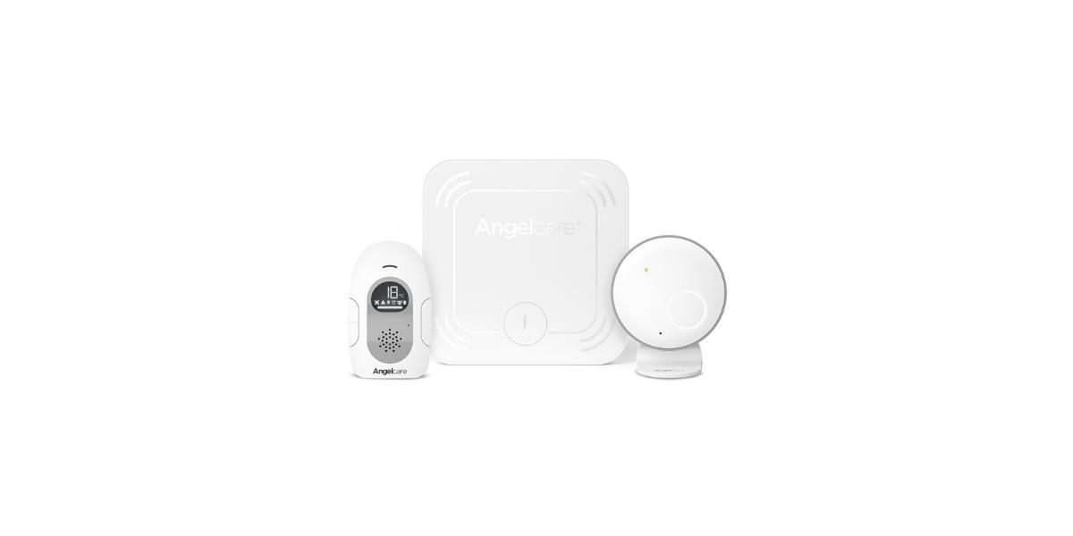 Babyphone-audio-blanc-marque-Angelcare-AC127