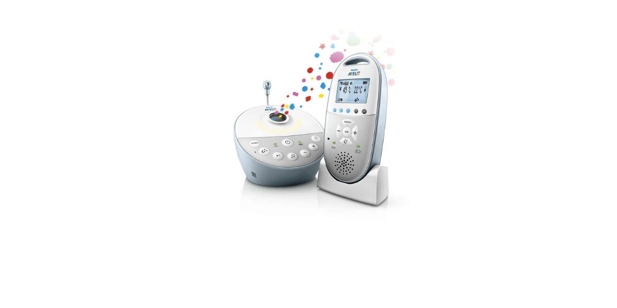 Babyphone-projection-étoiles-marque-Philips-Avent