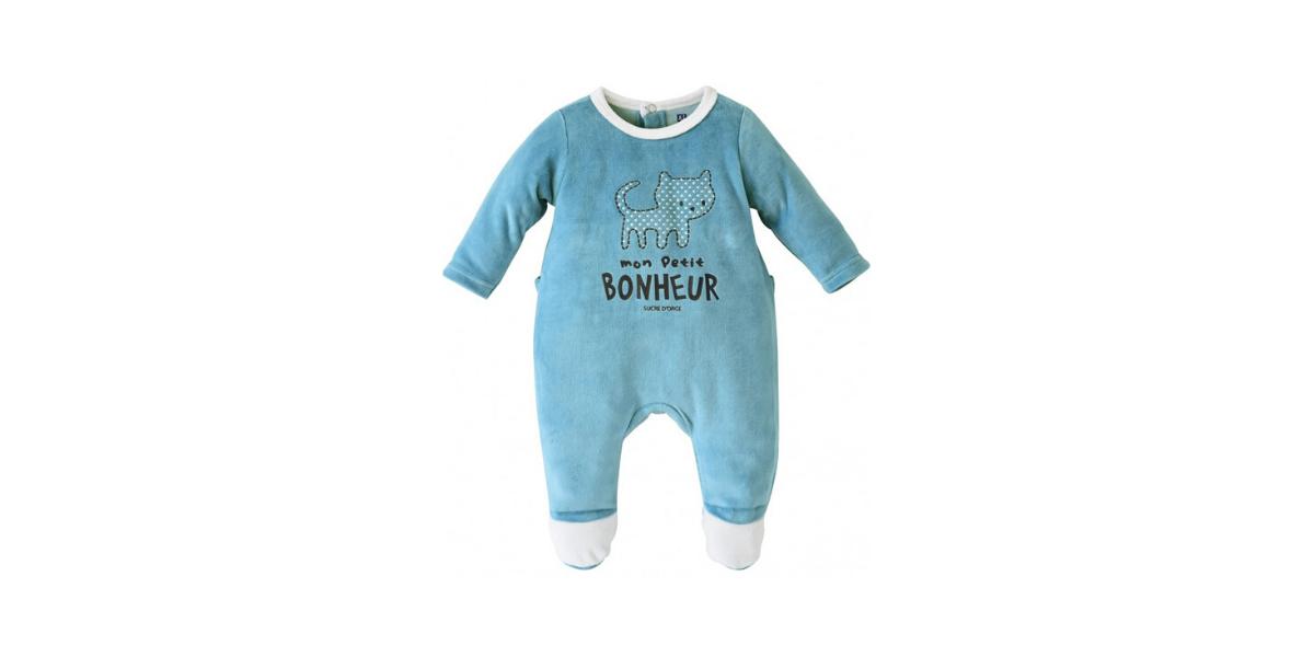 pyjama bébé marque Sucre d'orge