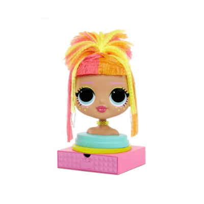 Têt-coiffer-LOL-Styling-Head-Neonlicious-Zapf-création
