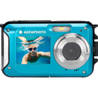 appareil photo bleu enfant marque Agfa