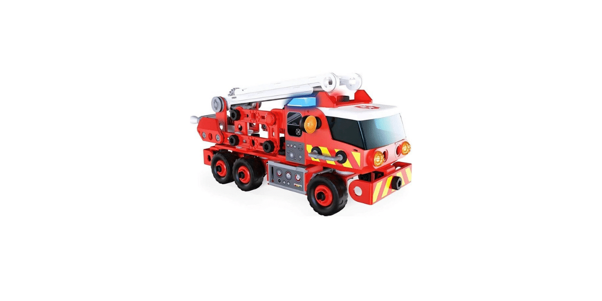 Camion de pompier maccano junior