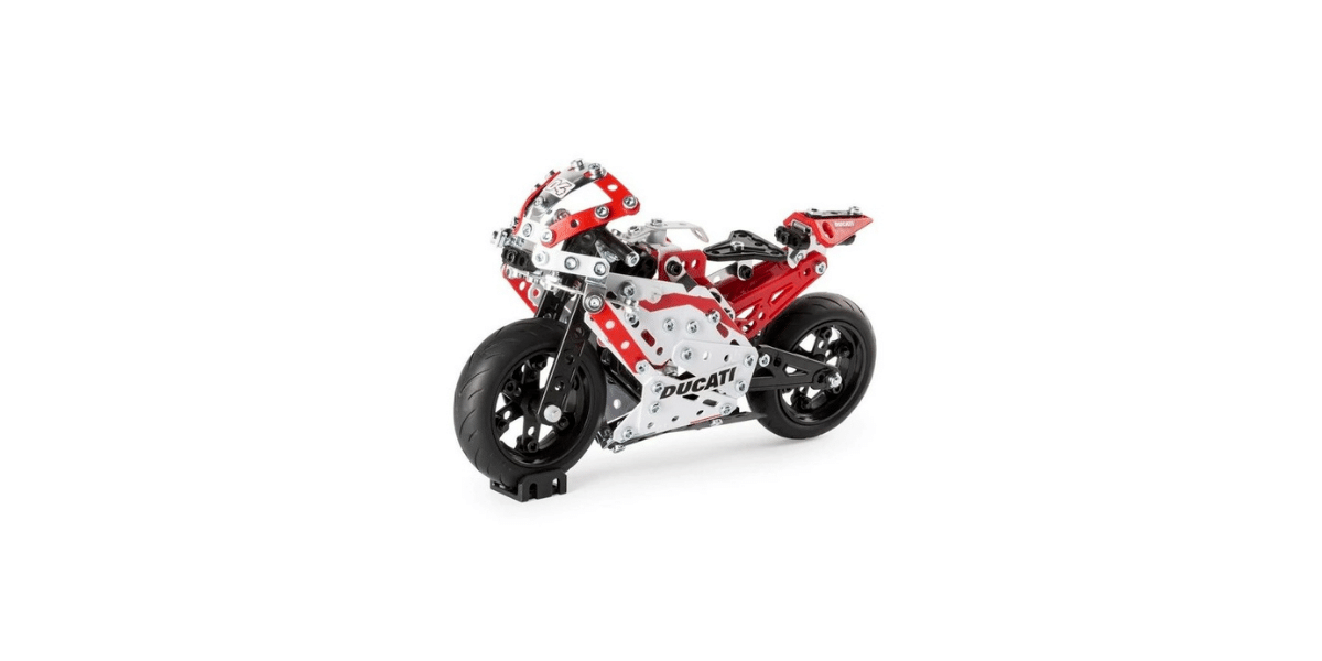 moto Ducati marque meccano