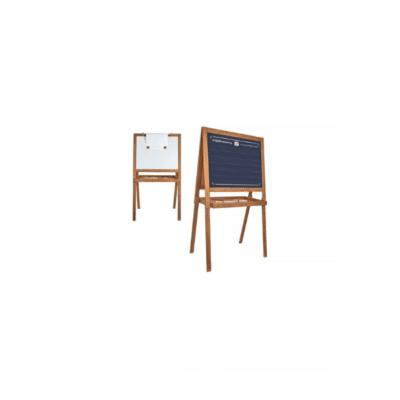 tableau écolier double face noir avec craies et blanc magnétique marque vilac