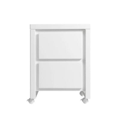 table de chevet blanche marque Bopita