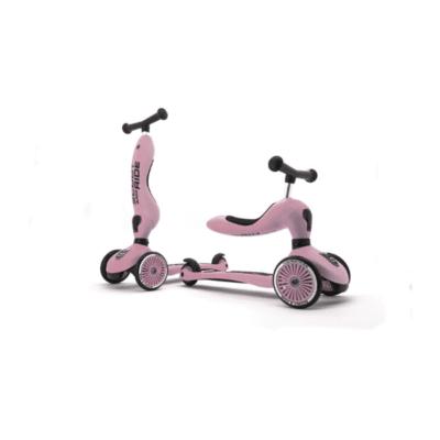 Trottinette 2 en 1 marque Scoot & Ride