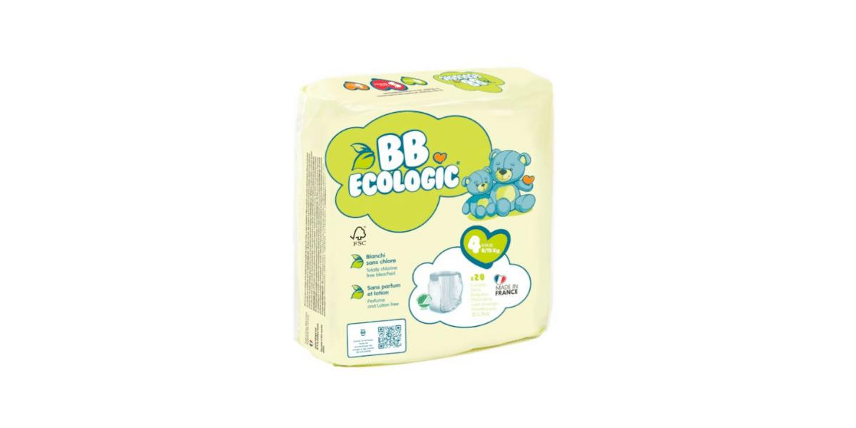 paquet de couches marque bb écologic