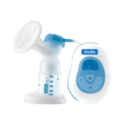 tire lait électrique blanc et bleu marque Dodie