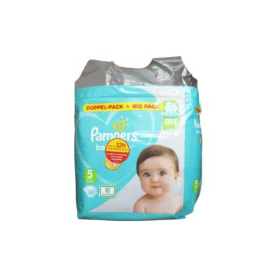 Pack de pañales de la marca Pampers