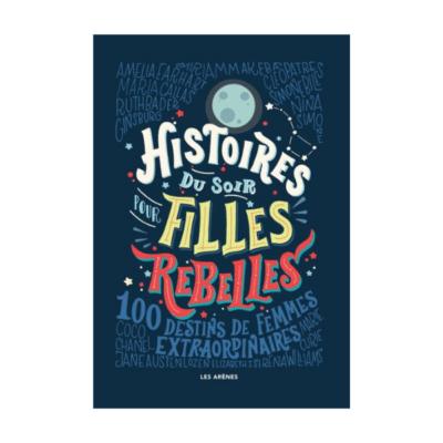 couverture livre Histoires du soir pour filles rebelles