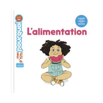 portada del libro de alimentación del bebé