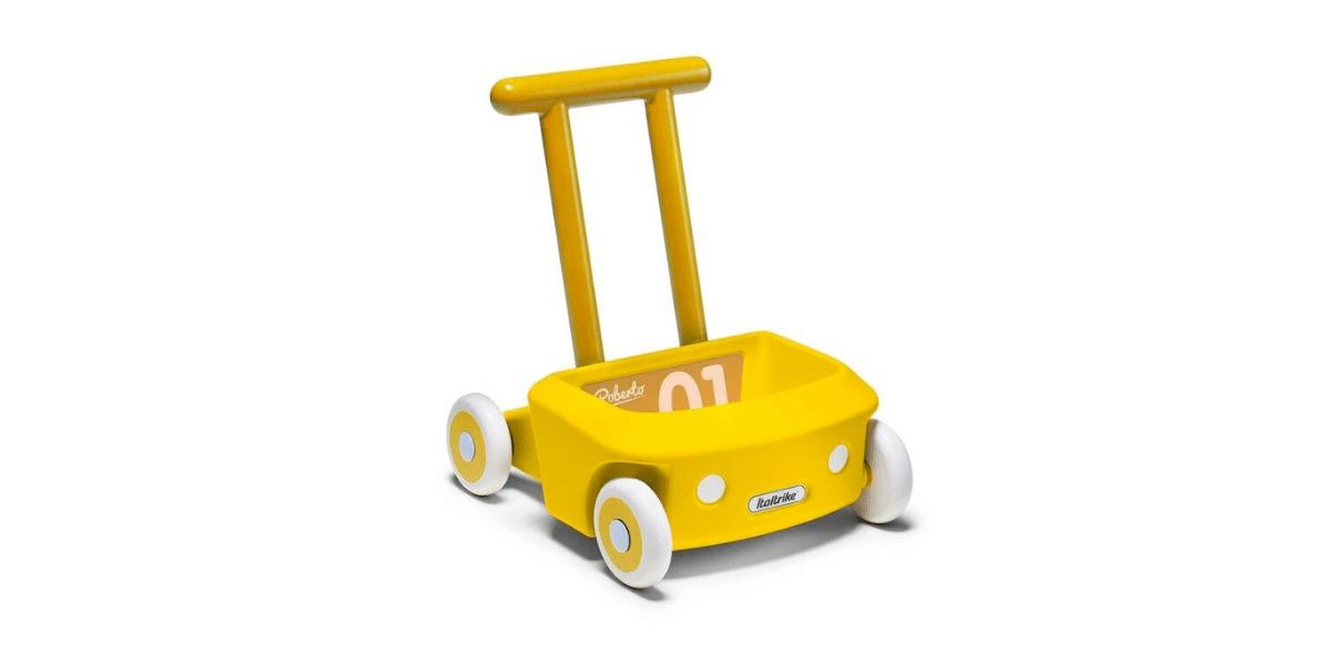 trotteur jaune Roberto marque Italtrike