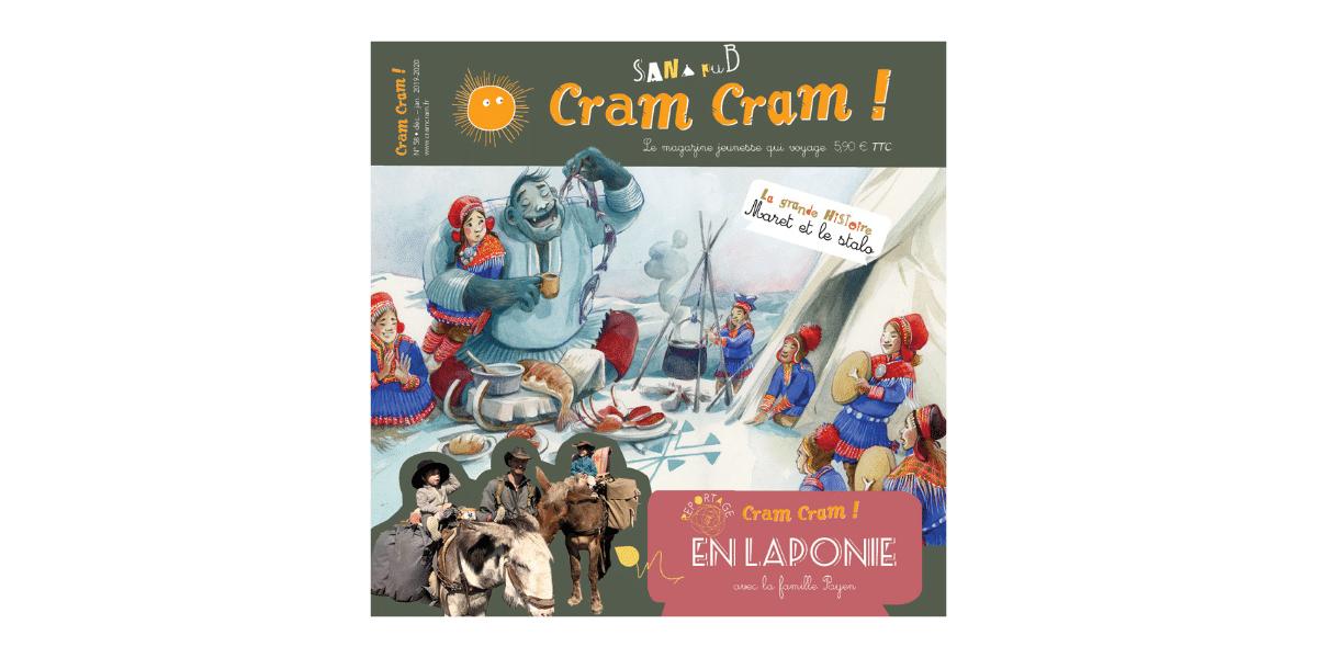 couverture magazine cram cram