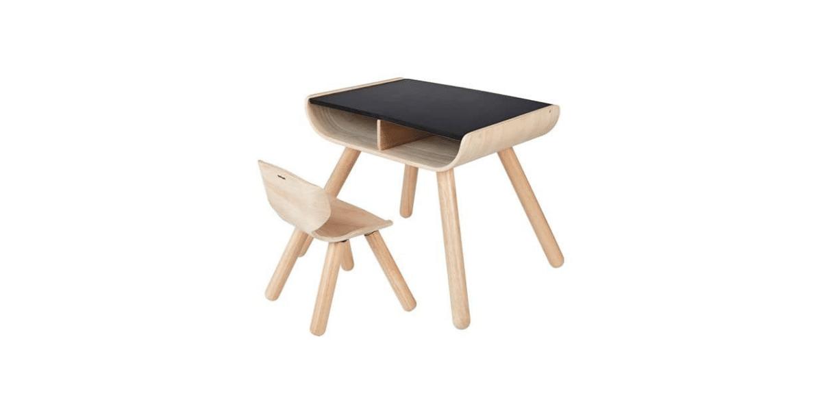 Table bureau et chaise enfant marque Plan Tays
