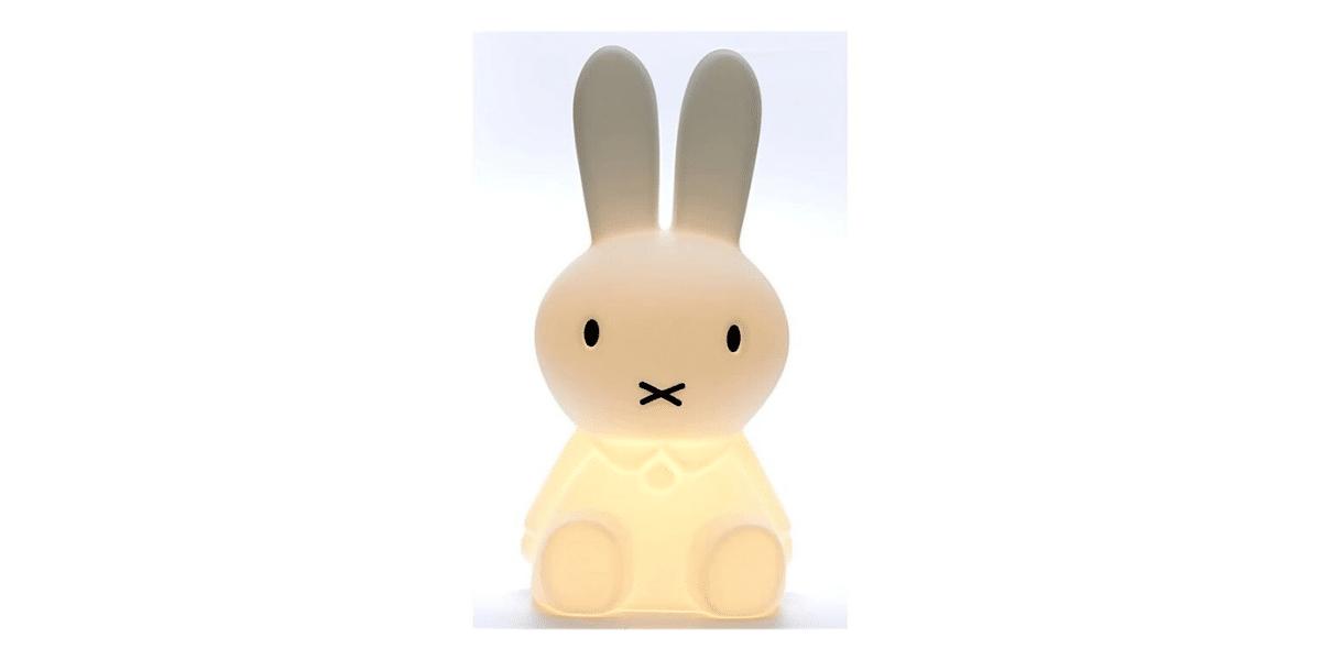 veilleuse forme de lapin marque Miffy
