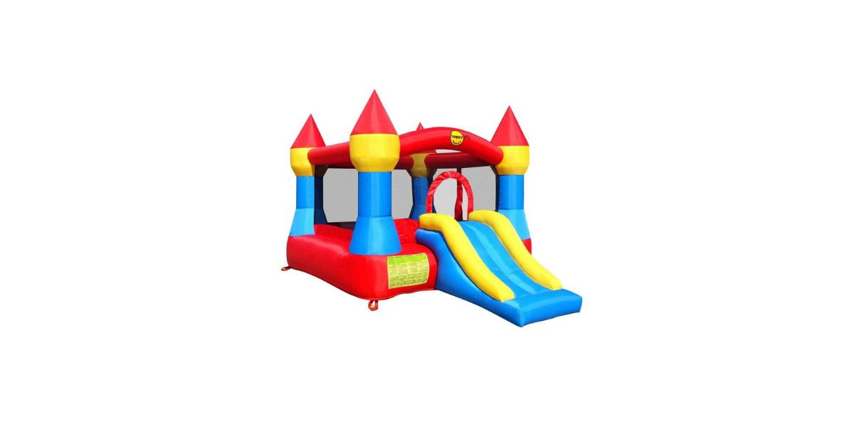 aire de jeux gonflable château gonflable avec toboggan marque Happy Hop