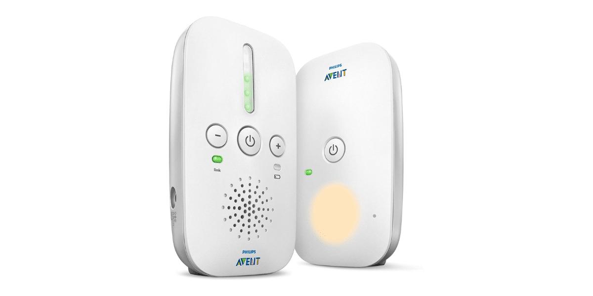 babyphone blanc marque Philips Avent
