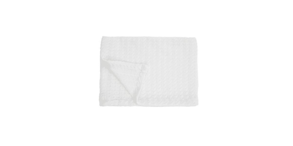 couverture en tricot pour bébé marque bébéséo