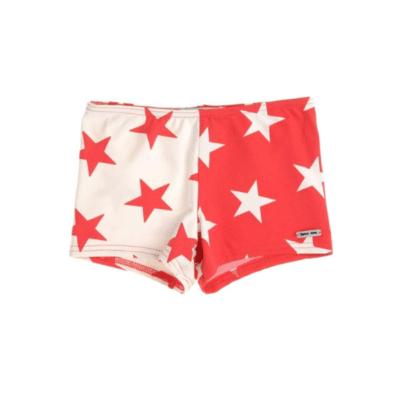 maillot de bain rouge et blanc marque Princesse Ilou