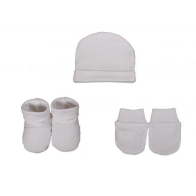 set mouffle chaussons bonnet marque Eveil et nature